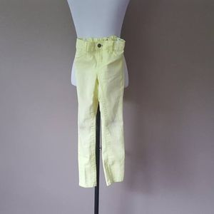 Old Navy Jeggings Girls Jeans Yellow Size 7